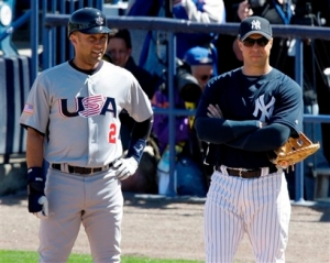 Jeter! And some dude.