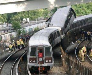 Metro Train Derailment