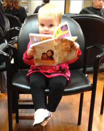 What to do when you're waiting too long at the doctor's office (kurowskifamily.blogspot.com)