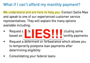 """What if I can't pay my student loan debt?"" LIES"